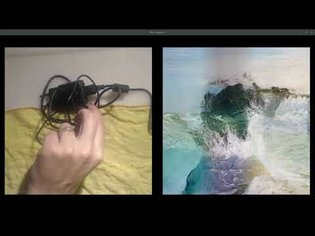 Gloomy Sunday: A neural network that sees nothing but art