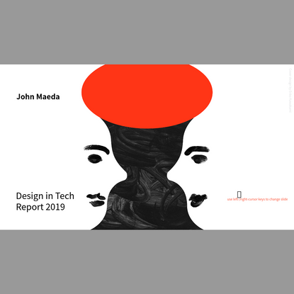A Flipboard-ized version of the Design in Tech Report 2019