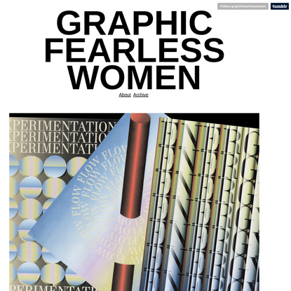 GRAPHIC FEARLESS WOMEN
