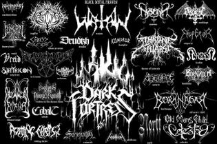 Illegible Death/Extreme Metal Logos