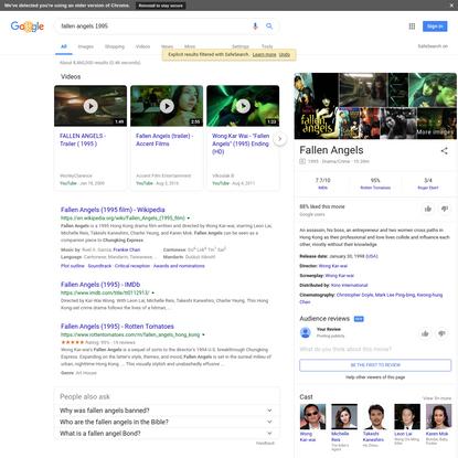 fallen angels 1995 - Google Search