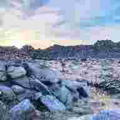 Compressed Landscapes