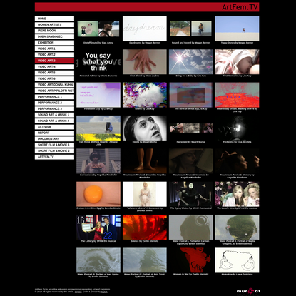 ArtFem.TV Art and Feminism ITV - video art 3
