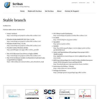 Stable branch