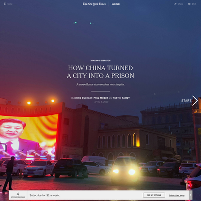 How China Turned a City Into a Prison