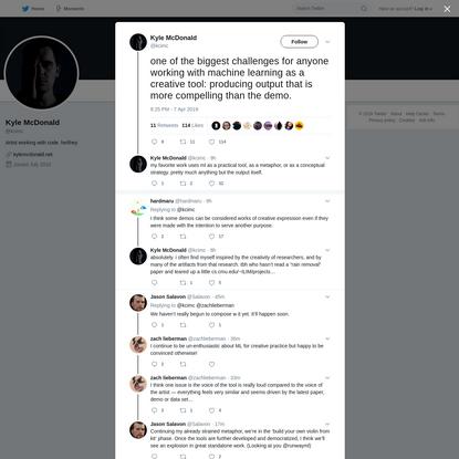Kyle McDonald on Twitter