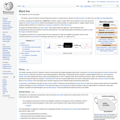 Black box - Wikipedia