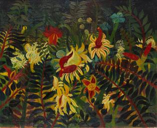 Josef Scharl, Tropische Blumen und Pflanzen/Exotische Pflanzen [Tropical Flowers and Plants / Exotic Plants], 1934