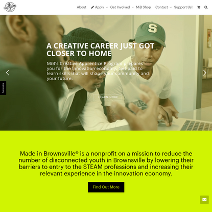 Made in Brownsville - Youth.Creative.Agency