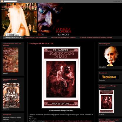 Catalogue HERESIE.COM