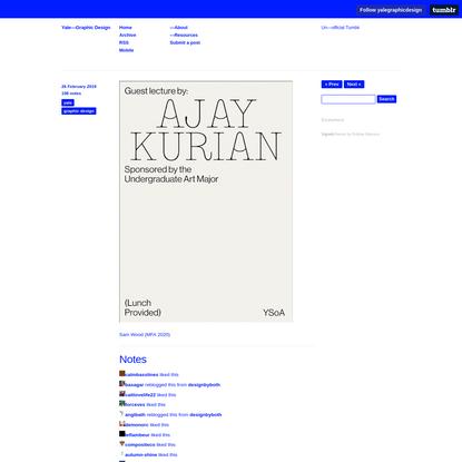Yale-Graphic Design