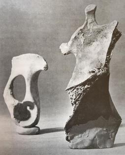 Henry Moore Bone Sculptures