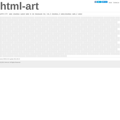 html-art