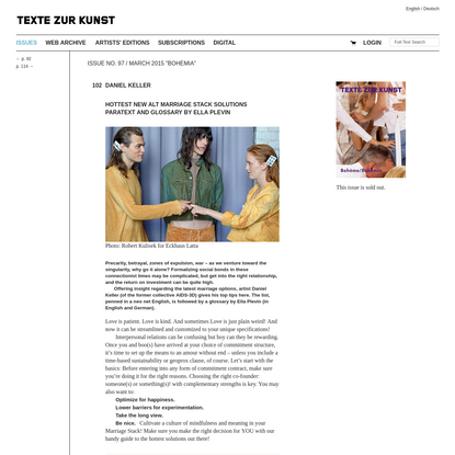 Hottest NEW ALT Marriage Stack Solutions Paratext und Glossar von Ella Plevin (Daniel Keller)