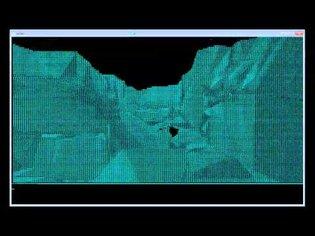 Rendering 3D scenes in a console window as ASCII art