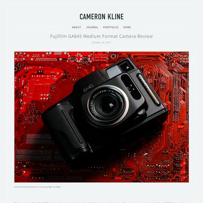 Fujifilm GA645 Medium Format Camera Review
