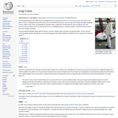 Luigi Colani - Wikipedia