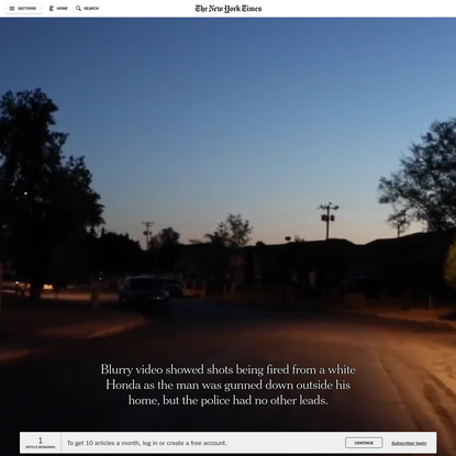 Tracking Phones, Google Is a Dragnet for the Police