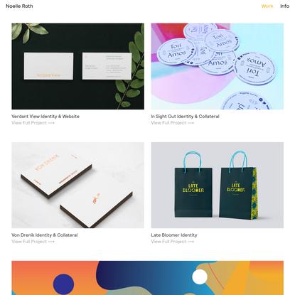 Noelle Roth - Branding & Design