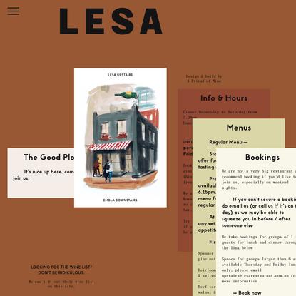 Lesa Restaurant - Melbourne