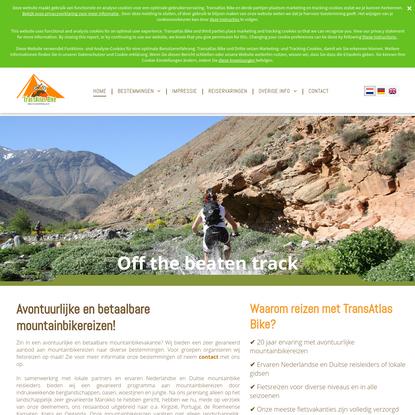 Mountainbikereizen naar diverse bestemmingen | TransAtlas Bike