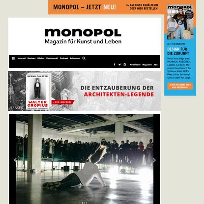 """""""Gegenpole von Zartheit und Gewalt""""   monopol   Anne Imhof über """"Sex"""" in London"""