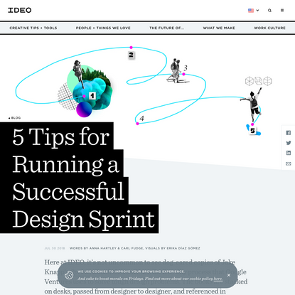 5 Tips for Running a Successful Design Sprint