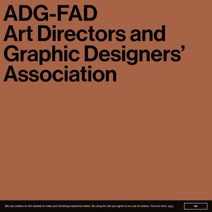 ADG-FAD. Art Directors and Graphic Designers' Association