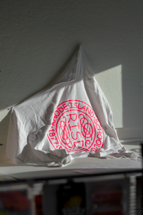 Comic Sans RISD Seal Shirt Back