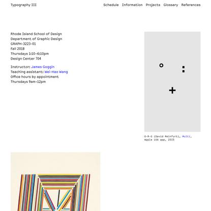 Typography III