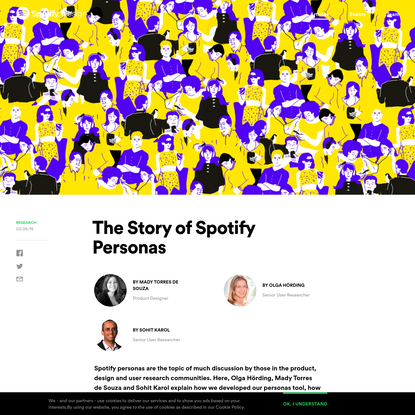 The Story of Spotify Personas