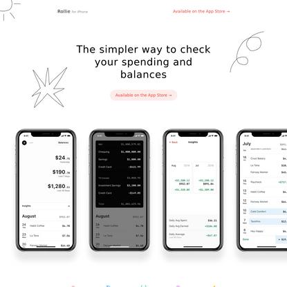 Rollie - Spending Tracker