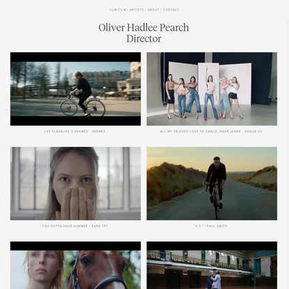 CLM Film - Oliver Hadlee Pearch