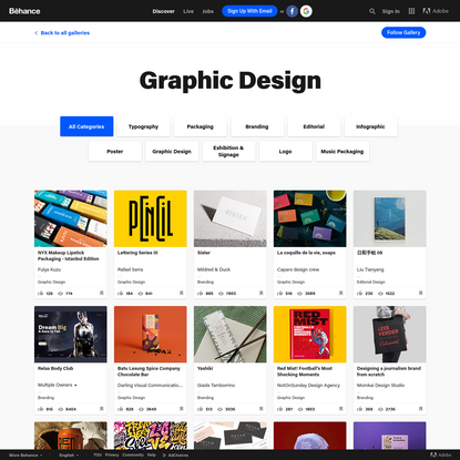 Behance :: Curated Galleries