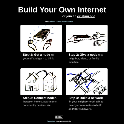 Build Your Own Internet