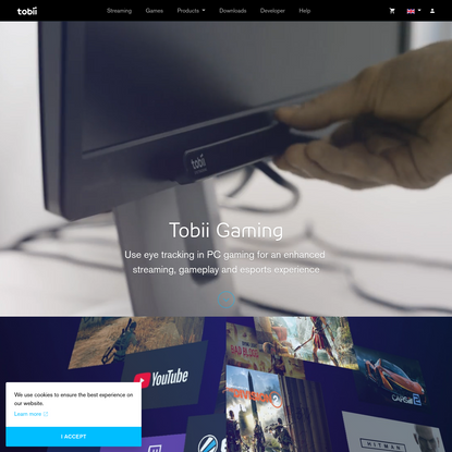 Tobii Gaming | Powerful Eye Tracking for PC Games