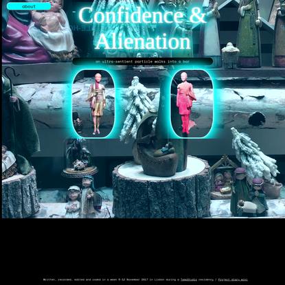 Confidence & alienation