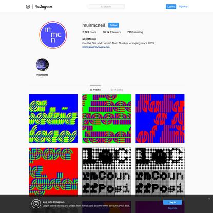 MuirMcNeil (@muirmcneil) * Instagram photos and videos
