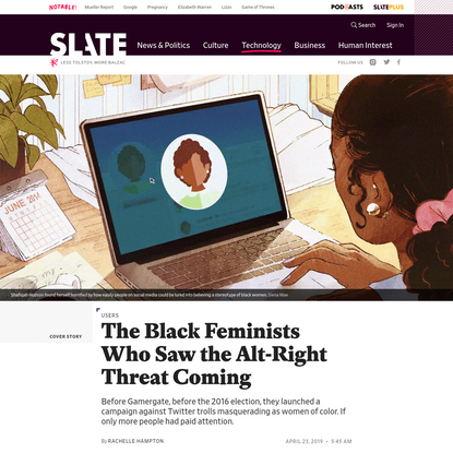 Years Ago, Black Feminists Worked Together to Unmask Twitter Trolls Posing as Women of Color. If Only More People Paid Atten...