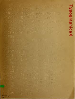 Typographica 6 (New Series)