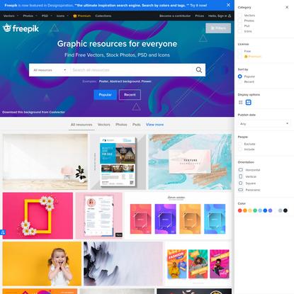 Freepik - Free Graphic resources for everyone