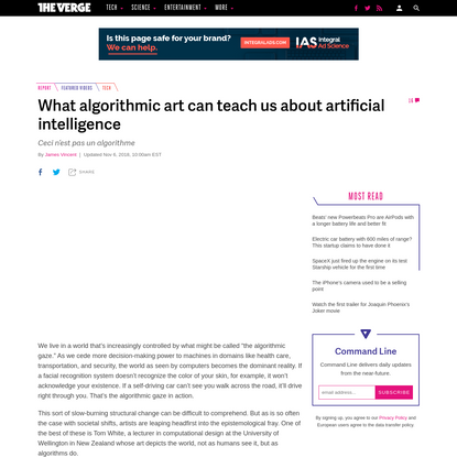 What algorithmic art can teach us about artificial intelligence