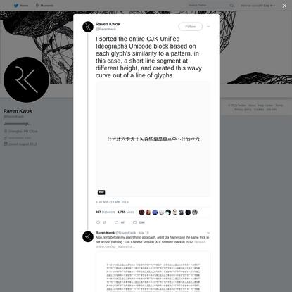 Raven Kwok on Twitter