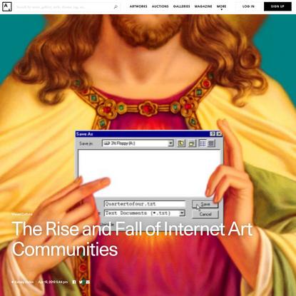 How Social Media Killed Internet Art Communities