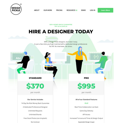 Design Pickle - Plans and Pricing