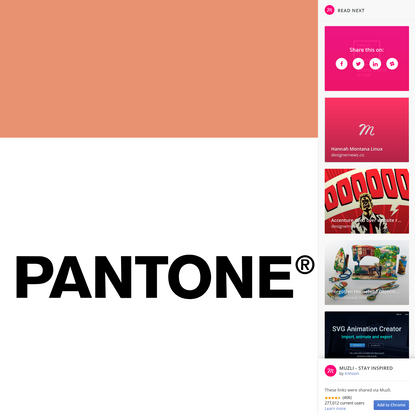 Color of the year 2019 - PANTONE 16-1546 Living Сoral TCX