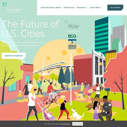 The Future of U.S. Cities - Centre for Public Impact (CPI)