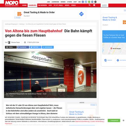 Von Altona bis zum Hauptbahnhof: Die Bahn kämpft gegen die fiesen Fliesen