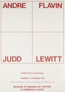 ANDRE/FLAVIN/JUDD/LEWITT