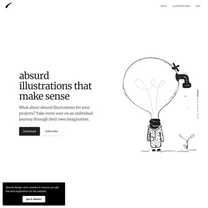 Absurd Design - Free Surrealist Illustrations and Vector Art